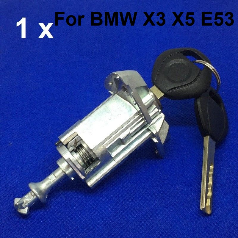 Pour BMW X3 X5 E53 Avant Gauche Cylindre De Serrure De Porte Clés 51217035421 OE
