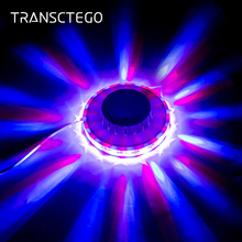 48 Led Disco Light RGB Party Auto Rotating Sunflower Stage Lighting Voice Activated Wall Lamp Bar DJ