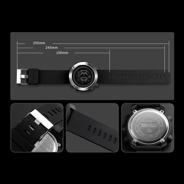 Top Luxury Digital Watch For Men (Waterproof, LED, Digital, Fashion)