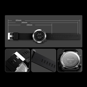 Image 5 - SKMEI Top Luxury Sports Watches Men Waterproof LED Digital Watch Fashion Casual Mens Wristwatches Clock Relogio Masculino