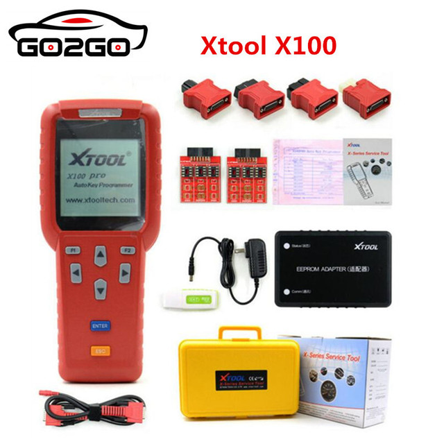 11.11 Promotion Hot Original Xtool X100 PRO Auto Key Programmer X100+ Updated Version with EEPROM Adapter