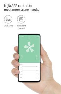 Image 2 - Xiaomiyoupin אינטליגנטי עלים הדום מאוורר Mijia APP בקרת 11 מהירות רוח עיתוי ביתי מאוורר עם שלט רחוק