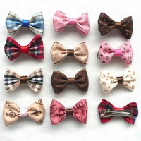 Classic Pet Cats And Dog Bow Hairpin Headdress Dog Accessories
