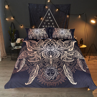 New Jacquard Bedding and Bed Set 3d Linens Cotton Twin Full Queen King Size 3pcs Funda Nordica Duvet Pillows Covers Sheets D