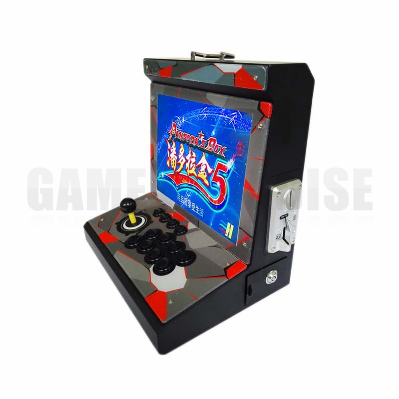 все цены на 2 pcs metal Case Family 1 player Mini Arcade Game Machine with 15 inch LCD 960/1388 in 1 games board HDMI output онлайн
