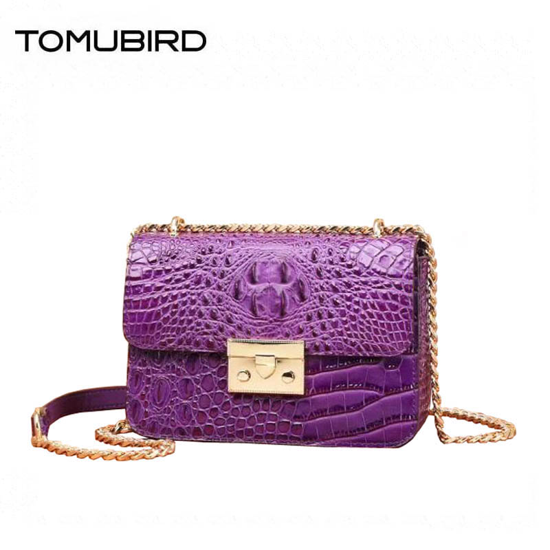 Women genuine Leather bags superior cowhide bags for women 2018 new Crocodile pattern small bags handbags women famous brands цена