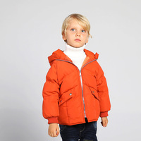New Toddler Boys Girls Winter Coat Kids Winter Down Jacket Warm Children Clothes Cotton Hooded Outerwear For 2 8Yrs