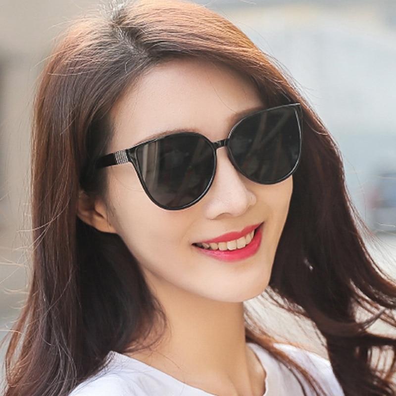 2019 нови модни дамски слънчеви очила висок клас ретро класически марка дизайн мъжки слънчеви очила UV400 овални популярни шофьорски очила