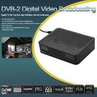 K3 HD 1080 P Numérique Set Top Box DVB-T2 Diffusion Vidéo Récepteur terrestre H.264 MPEG4 Soutien 3D TV Box avec Télécommande contrôle