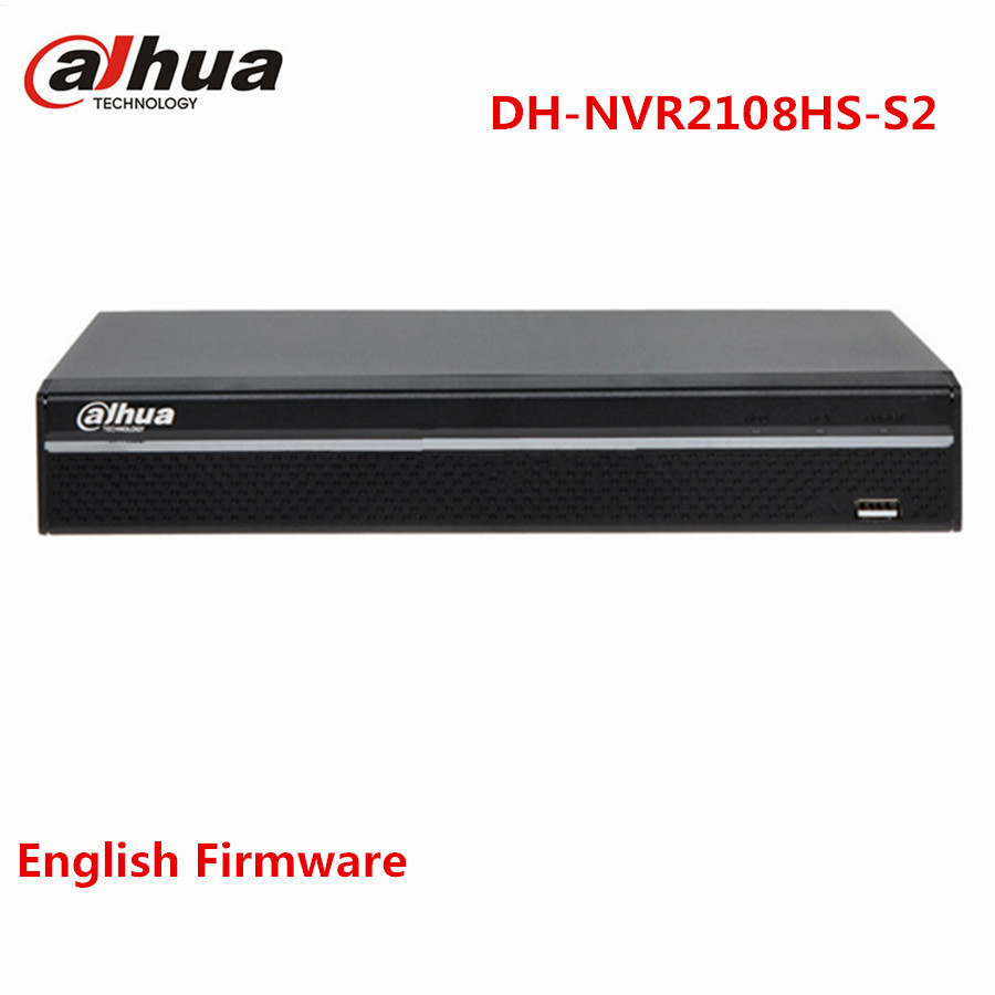 Dahua 4/8 CH Compact 1U Lite Network Video Recorder NVR2104HS-S2 NVR2108HS-S2 6Mp Camera Onvif HDMI VGA Alarm CCTV NVR System цены
