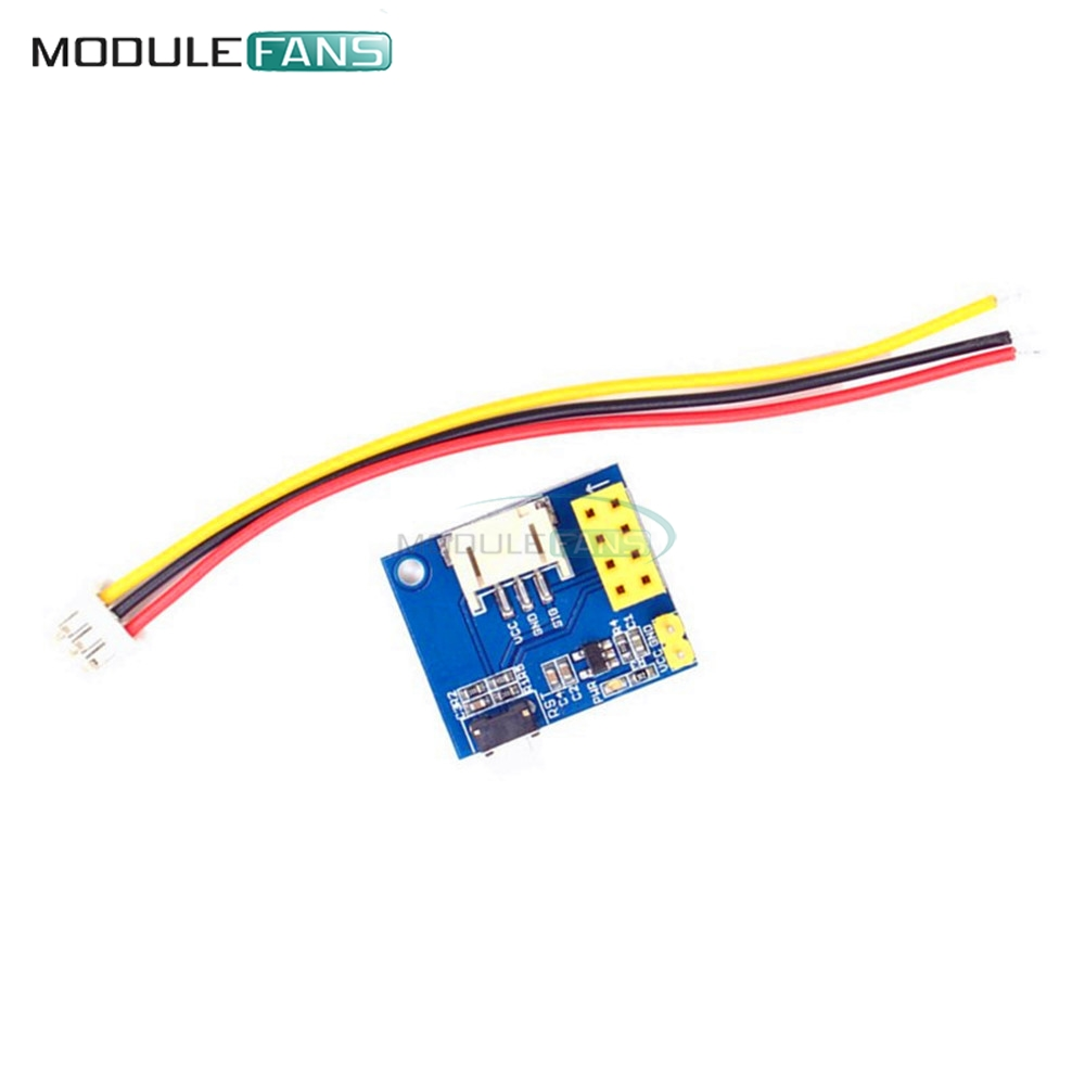 Esp8266 Esp 01 01s Rgb Led Controller Adpater Wifi Module For Circuit Diy Breadboard 830 Point Board 65pcs Jumper Wire Kit Set Yc Insert The Into 2 4 Pin Header In Direction Of Arrow As Shown Below