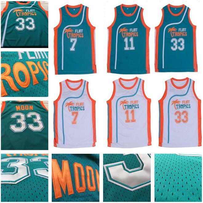 c56a77ca454 jersey size extra small XS s-4xl Retro Movie Semi Pro Flint Tropics Jackie  Moon