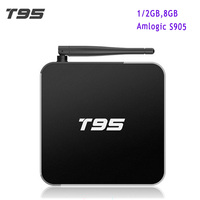 Original T95 Android TV Box Amlogic S905 Quad Core Android 5 1 1GB 2GB 8G 2