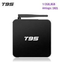 Original T95 Android TV Box Amlogic S905 Quad Core Android 5 1 1GB 2GB 8G 2