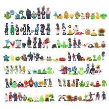 Pvc figura de ação pvz coleção figuras brinquedos presentes 2 8 8cm