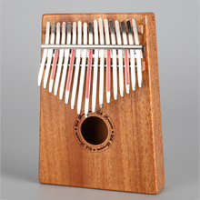 17 Keys Kalimba Mbira Sanza Likembe Thumb Piano Rosewood Instrument Traditional African Music Instruments 17 tone