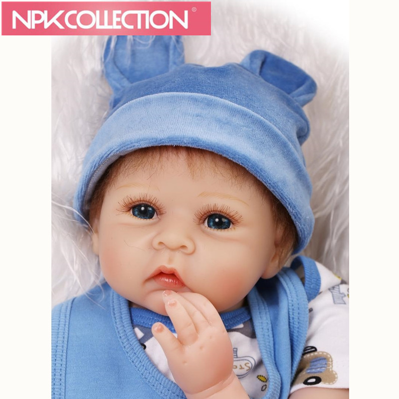 22 bebe realista reborn baby dolls soft cloth body silicone reborn-babies children girl birthday gift dolls toys bonecas ночная рубашка для девочки mark formelle цвет белый 1201 размер 110