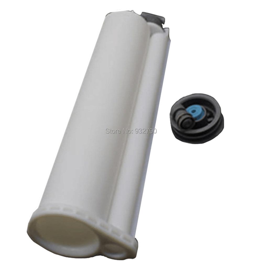 US $1 42 21% OFF|75ml 10:1 2 part PP Mixer Epoxy Resin Dispenser AB Dual  Cartridge AB Epoxy Hand Manual Gun Cartridge Disposable Dual Glue Tube-in
