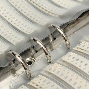 Image 5 - 92 valeurs x50Pcs 4600 pièces 0805 SMD puce condensateurs Kit dassortiment 0.5pF10uF condensateur échantillon livre facile à transporter économiser de lespace