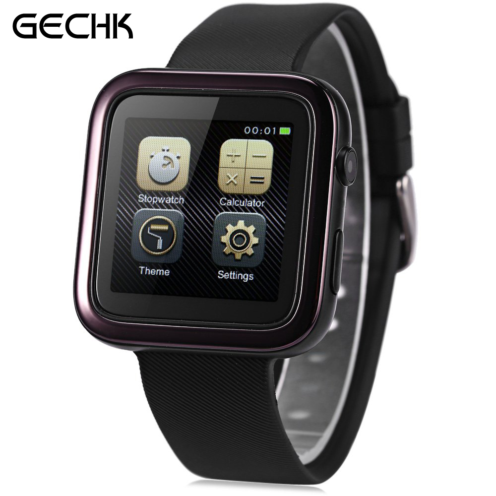 ФОТО Colorful ORDRO CK1 1.54 Inch Anti-lost Smartwatch Phone MTK2502 Remote Camera Pedometer Sedentary Reminder IP54 Water-resistant