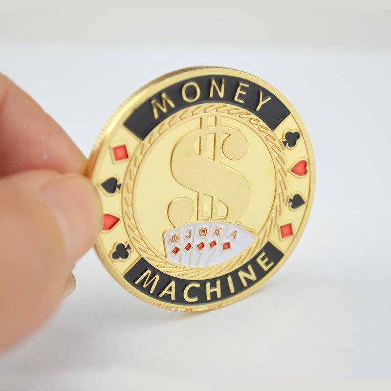 Metal Souvenir Coin,Poker Chip Card Guard Protector Token Coin I\'M ...