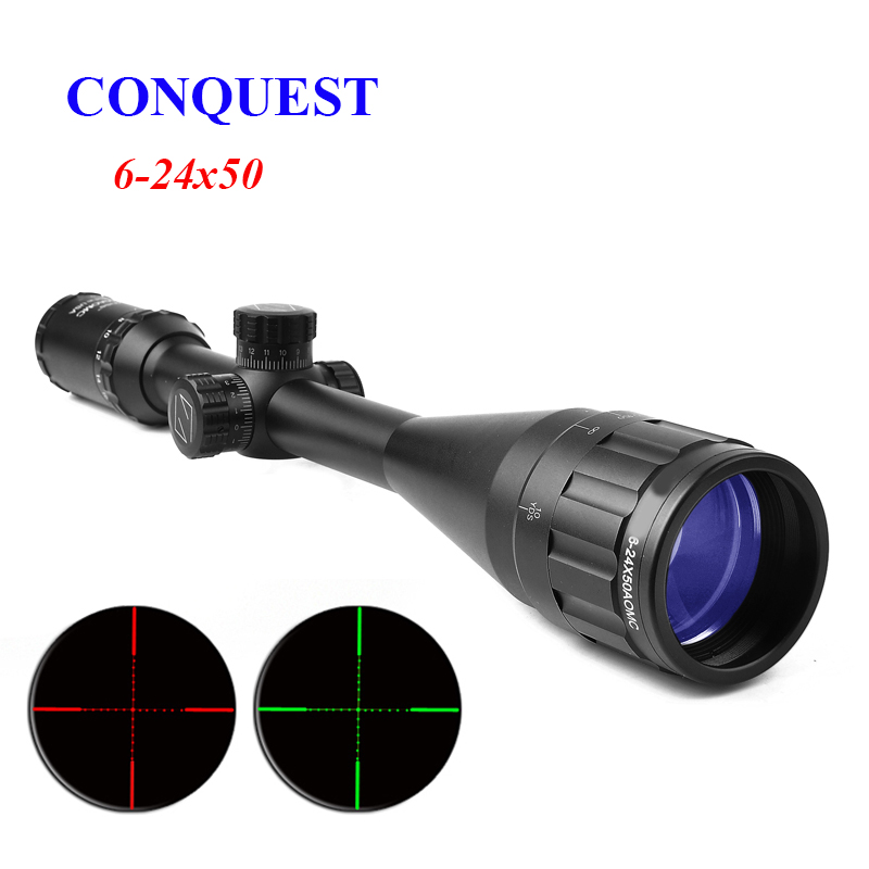 ZEISS CONQUEST Hunting 6-24X50 Tactical Optical Riflescope Long Eye Relief Rifle Scope Airsoft Sniper Rifle Optics Hunting Scope бинокль carl zeiss 8x20 t conquest compact page 6