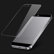 Premium Real Tempered Glass Film Screen Protector Front and Back For iPhone 5 5S On Sale