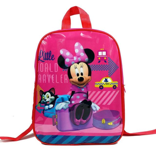 Aliexpress.com : Buy IVI Baby Girls Cartoon Minnie School Bag Kids ...