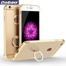 Для Iphone 6 случае 4.7 дюймов 5.5 дюймов кольцо держатель крышки пластиковый чехол для телефона для apple iphone 6 плюс 6 6 s плюс 7