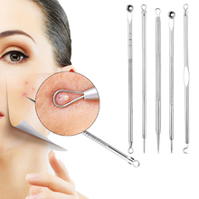 5pcs/set Acne Blackhead Remover Black Spots Pore Cleaner Needles Tools for Face Comedone Acne Pimple Blemish Extractor Remover