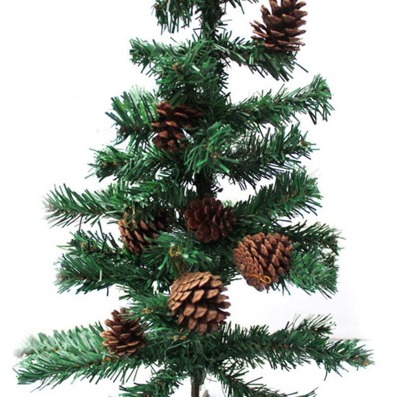 Humble 18pcs 3-4cm Christmas Tree Pine Cones Pinecone Hanging Ball Holiday Xmas New Year Party Ornament For Home Festival Top Watermelons Ball Ornaments Christmas