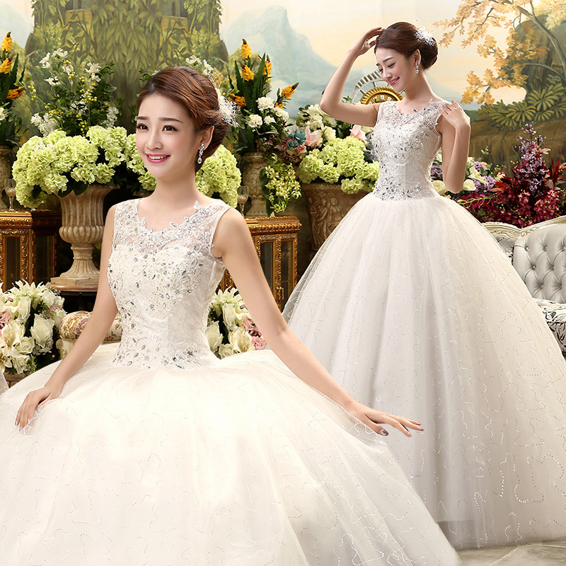 Cheap Plus Size Ball Gown Wedding Dresses: 2017 New Stock Plus Size Women Pregnant Bridal Gown