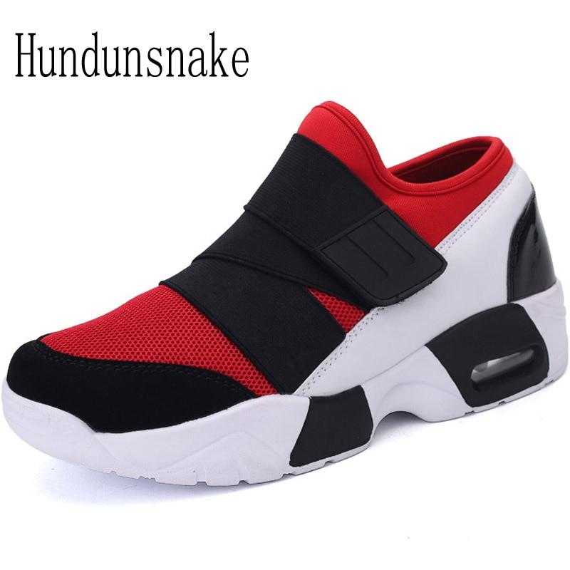 Hundunsnake Mesh Barefoot Shoes Women Red Sneakers Air Mesh Sport Running Shoes For Men 2018 Ladies Krasovki Female Gumshoe T113