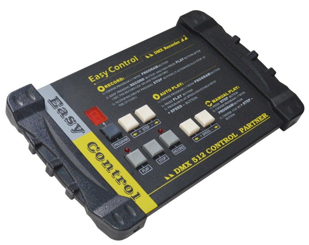 Rasha Facile Controllo DMX Recorder Con 7 Diversi Programmi Per DJ Sistema di Controllo Regolatore Della Luce Della Fase DMX512 PARRTNER