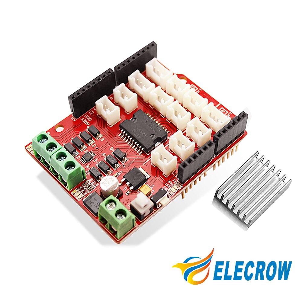 Crowtail Motor Base Shield for Smart Car Robot Electronic DIY Kit Free Shipping