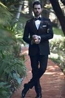 New Arrival Mens Formal Wear Terno Casamento Custom Male Suits Slim Fit Wedding Suits For Men (jacket+pants +vest)