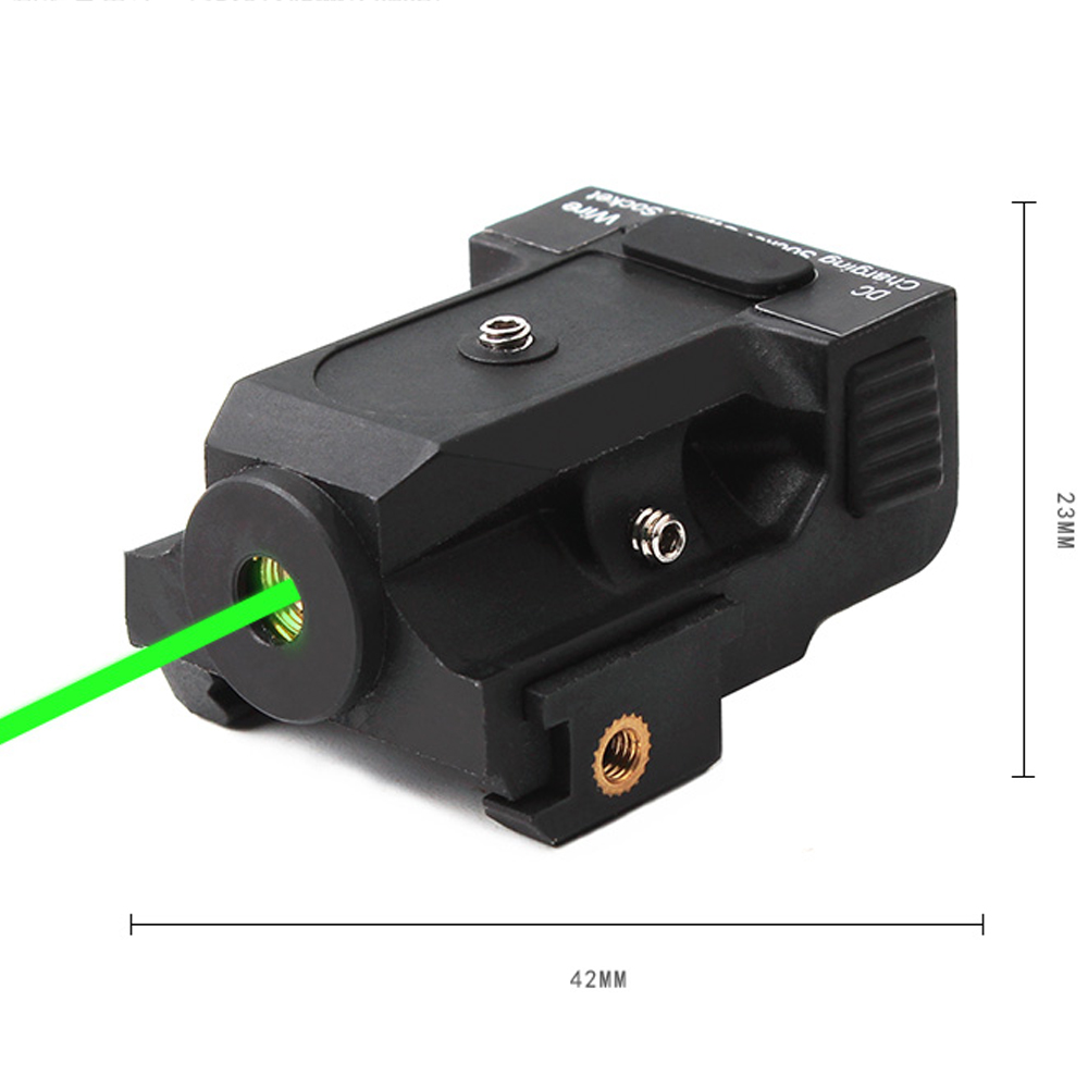 New High Quality Aluminum Casing Green Laser Sight Green Beam Laser Dot Sight For Winter Hunting Low Temperature Resistant. high quality southern laser cast line instrument marking device 4lines ml313 the laser level