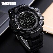 SKMEI WristWatch Bluetooth Smart Watch Waterproof Sport Pedometer Camera font b Smartwatch b font For Apple