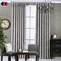 Luxury European Style Design Ready Made Window Curtain Blind For Window Living Room WP293C