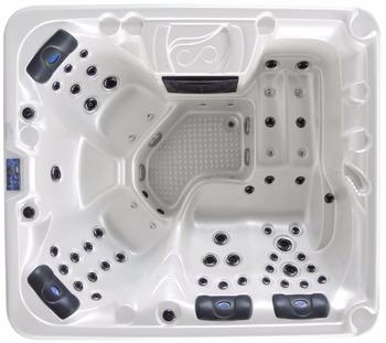 105 przenośna zewnętrzna wanna z hydromasażem make in China tanie i dobre opinie Wolnostojące Akrylowe Brak w zestawie Combo masaż (air whirlpool) Rogu Ociekaczem 2 2 m WHITE Niebo niebieski Brązowy