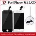 Para iphone 5se display lcd 100% testado brand new substituição da tela de toque digitador assembléia 10 pçs/lote