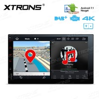 7 Android 7 1 Nougat Car GPS Radio Stereo Multimedia Fits 1din And 2 Din One