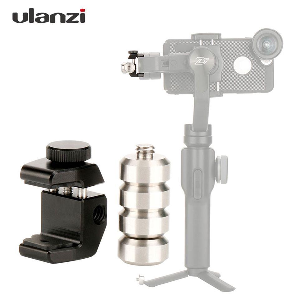 Ulanzi PT-4 estabilizador Universal para DJI contrapeso, equilibrio contrapeso desmontable para Zhiyun Smooth 4/V2/M/Feiyu