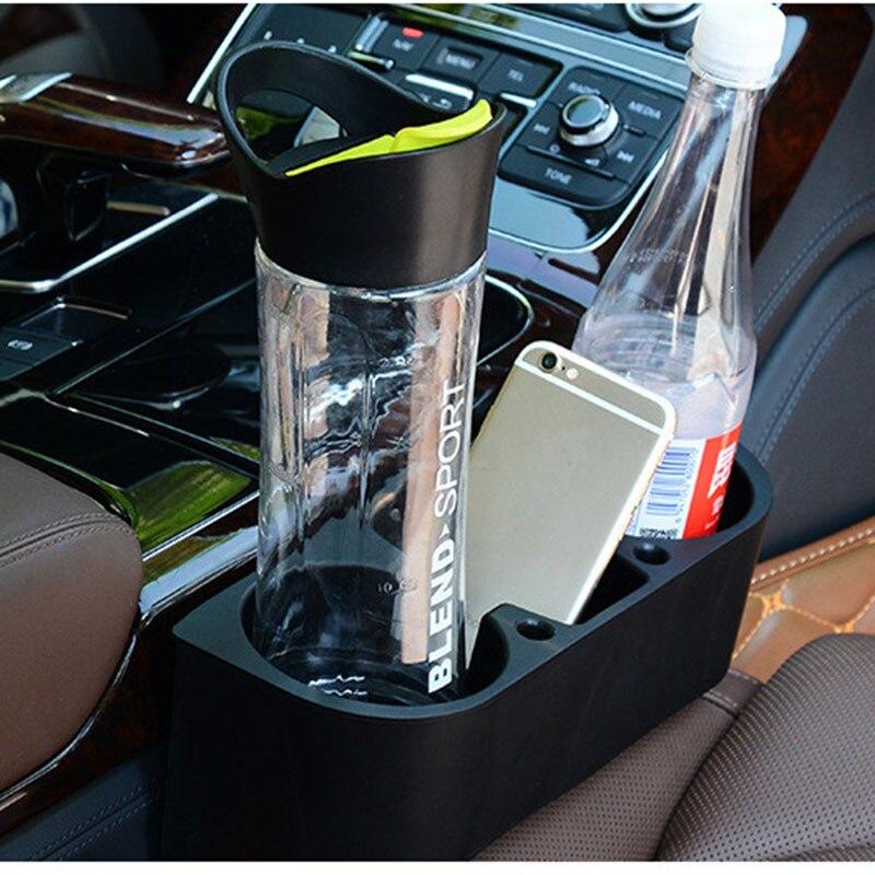 Экологичный автомобильный подстаканник, автомобильный держатель для сиденья, заполнитель для бутылки для напитков, держатель для ручки для мобильного телефона, подставка, автомобильный органайзер для интерьера