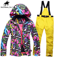 Winter Ladies Outdoor Warm And Cold Ski Suit Suit Windproof Waterproof Wear Resistant Breathable High Grade