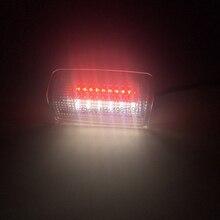 цены 2pcs car LED courtesy door light for Lexus IS ES LS LX RX GS GX LC RC for Toyota IS250 Land Cruiser 150 Series Prado MK4 Crown