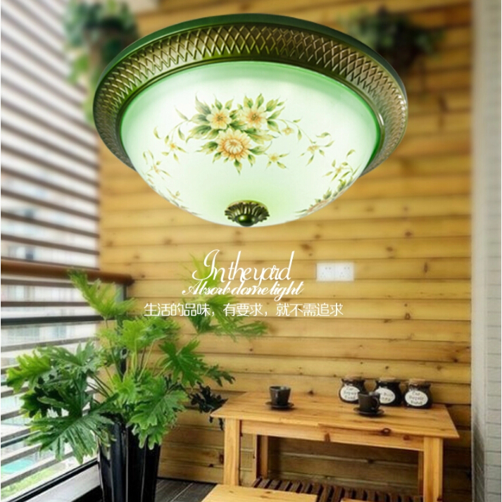 Free shipping led living room ceiling light 12w Diameter 300mm hand painting free shipping led ceiling panel light 12w diameter 300mm hand painting