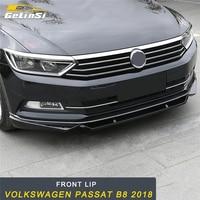 GELINSI Car Front Lip Chin Bumper Body Kits Deflector Spoiler Splitter Diffuser For Volkswagen Passat B8 2018 Car Styling