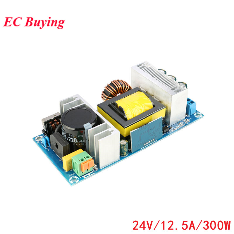 Power Supply Module AC-DC 220V to DC 24V 12.5A 300W Switching Power Supply Module Isolated Step Down Bare BoardPower Supply Module AC-DC 220V to DC 24V 12.5A 300W Switching Power Supply Module Isolated Step Down Bare Board