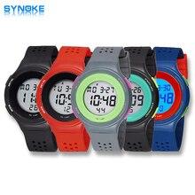 2016 Marca Digital de Reloj de Alta Calidad A Prueba de agua Relojes Deportivos S Choque Militar Reloj de La Manera Ocasional Súper Delgado Swim